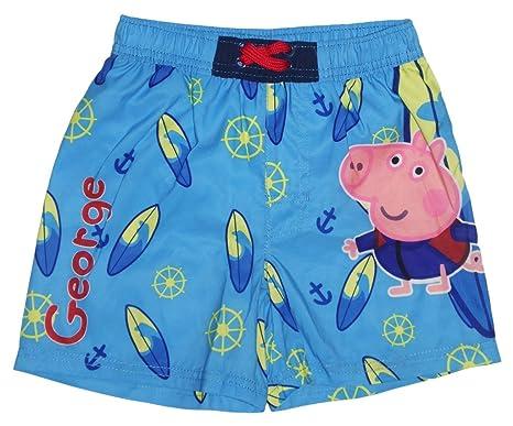 Ba/ñador de nataci/ón para ni/ño 2 a/ños George Pig