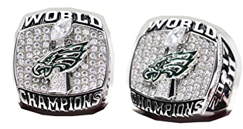4f1e380eacd 2017 - 2018 Philadelphia Eagles Football Super Bowl World Championship Ring  Commemorative