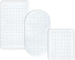 oval 69x36 cm casa pura/® Wanneneinlage Collector transparent mit integriertem Haarsieb schadstoffgepr/üft