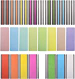 Reading Guide Highlight Strips (32 Pack) Colored Overlays Bookmarks Reading Tracking
