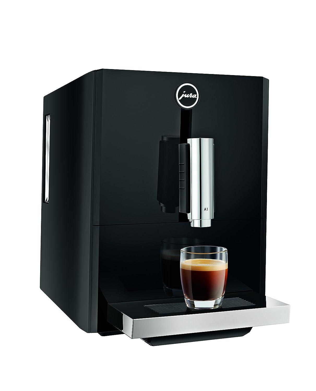JURA A1 Independiente Totalmente automática Máquina espresso 1.1L 9tazas Negro - Cafetera (Independiente, Máquina espresso, Negro, Taza, 1,1 L, ...