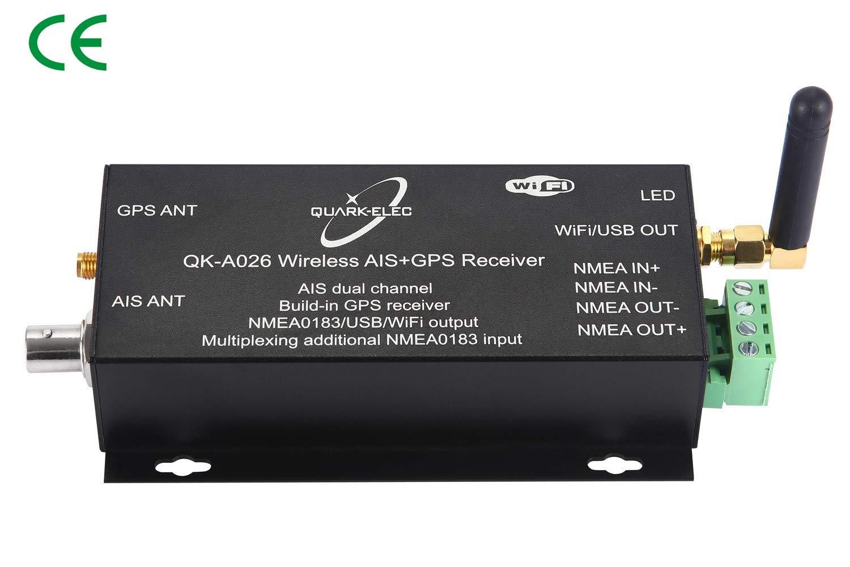 Quark-elec Wireless AIS Receiver with GPS and NMEA. (QK-A026)