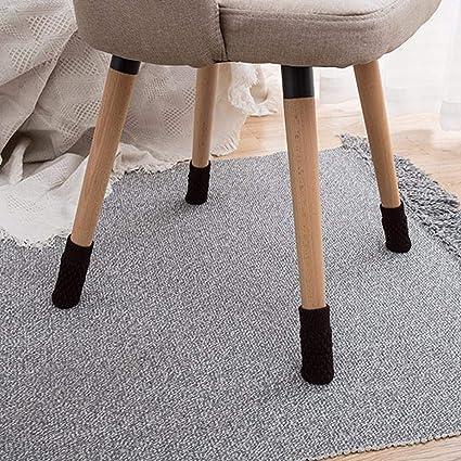 Anti-Slip Table Leg Pad Cover Non-Skid Sofa Chair Feet Mat Home Floor Protector
