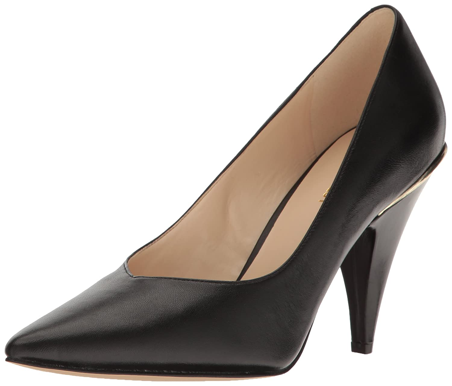 Nine West Women's Whistles Leather Pump B01N5CIY4Y 9 B(M) US|Black