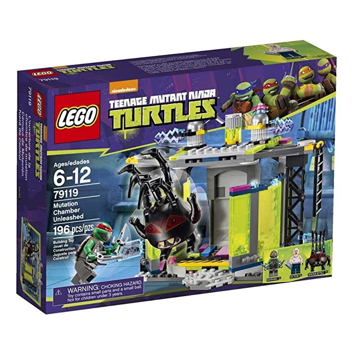 LEGO Ninja Turtles 79119 Mutation Chamber Unleashed Building Set