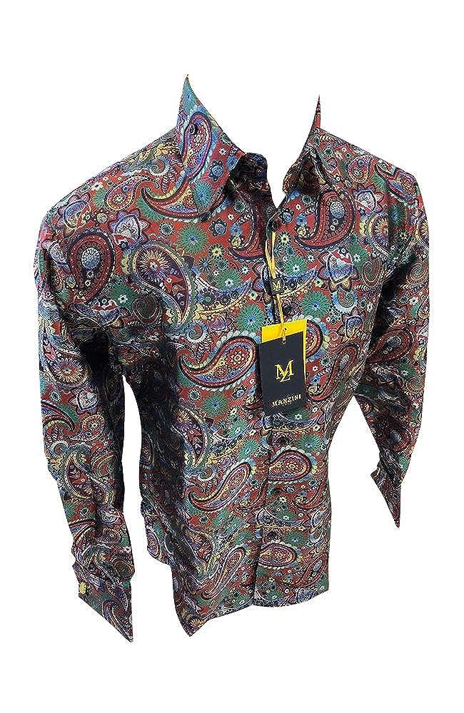 Flash Apparel Manzini Button Down Dress Shirt