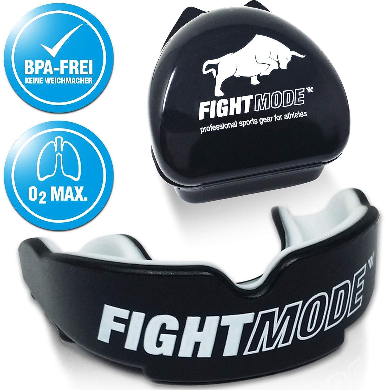 fight mode protector bucal  personalizable con funda y ebook