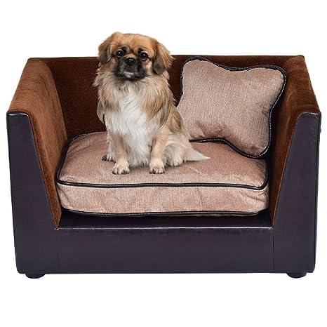 Amazon.com: Sofá para mascotas, cama de cachorro, de ...