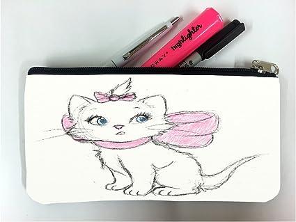 Aristocat - Estuche para lápices de estudiantes, diseño de dibujo de Disney: Amazon.es: Oficina y papelería