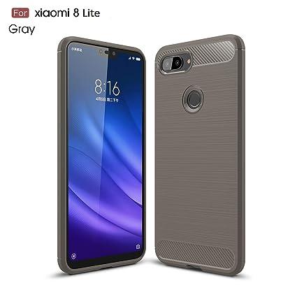 Amazon.com: Xiaomi Mi 8 Lite Funda, Cruzerlite Fibra de ...