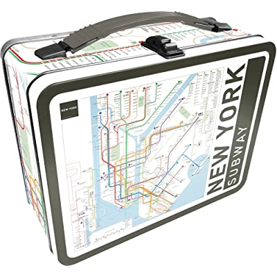 Aquarius NY Subway Large Gen 2 Tin Storage Fun Box: Toys & Games