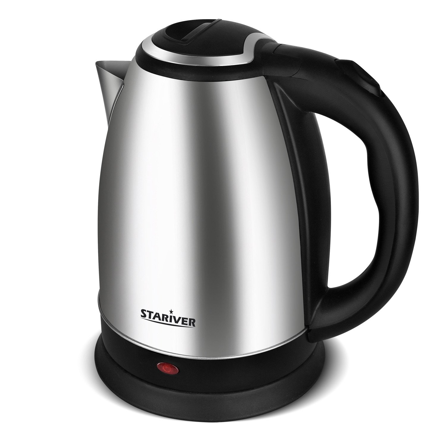 Stariver Electric Kettle Stainless Steel Cordless with Fast Boil, Auto Shut Off and Boil Dry Protection, Electric Tea Kettle - Classic Collection S2
