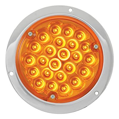 """Grand General 87580 Amber 4"""" 24-LED Stop/Turn/Tail Light: Automotive"""