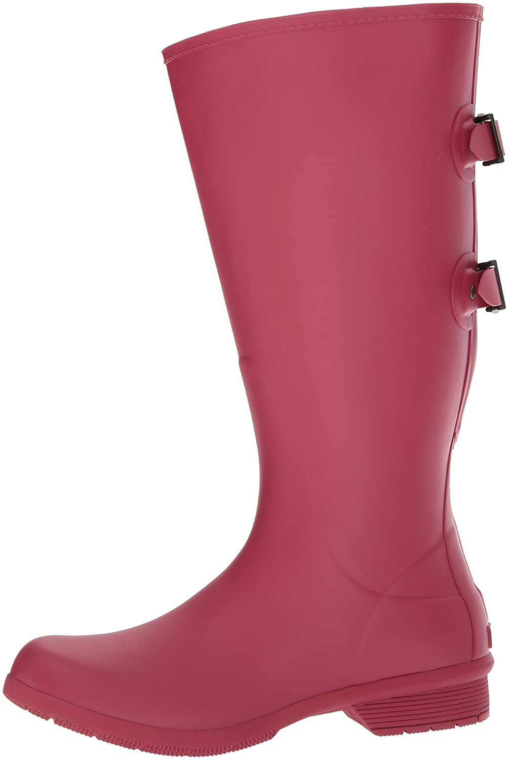 Chooka Women's Wide Calf Memory Foam Rain Boot B01N1RBGGN 11 B(M) US|Raspberry