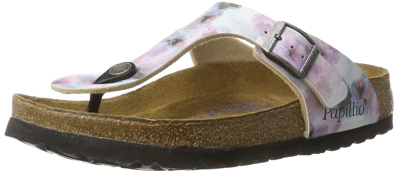 07273e1797304 Amazon.com  Papillio by Birkenstock Gizeh Ladies Toe Post Buckle Sandals  Pixel Rose 37  Shoes