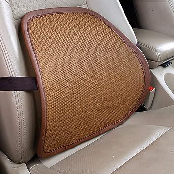 Amazon.com: NICOLA - Cojín lumbar de malla para asiento de ...