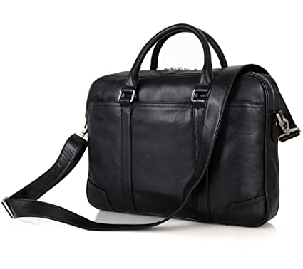 Image Unavailable. Image not available for. Color  Texbo Genuine Leather  15.6 Inch Laptop Briefcase Messenger Bag Tote Fit Business Travel ce382e1534ff8