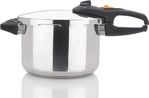 Zavor DUO 6.3 Quart Multi-Setting Pressure Cooker with Recipe Book