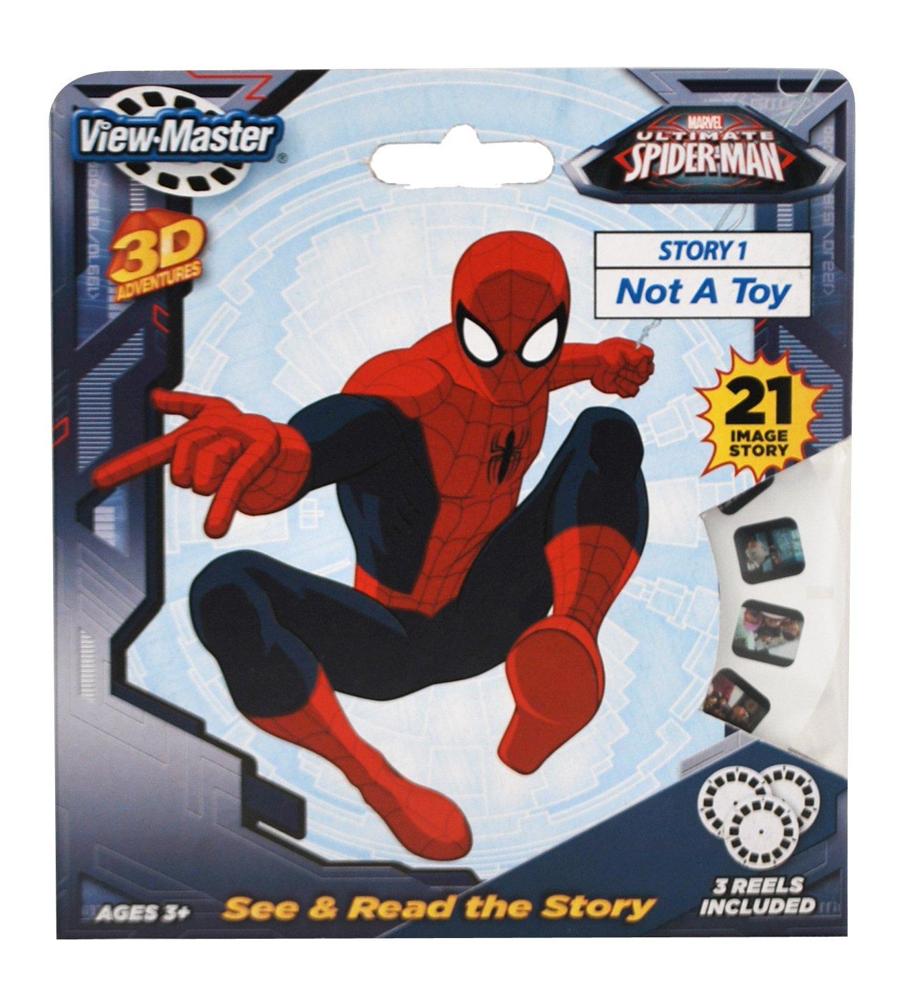 Basic Fun ViewMaster Spiderman 3 Reel Set by Basic Fun