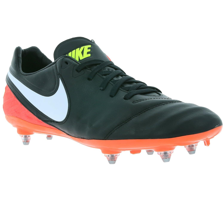 Noir (noir   blanc-hyper Orange-volt) Nike 819716-018, Chaussures de Football Homme 42 EU