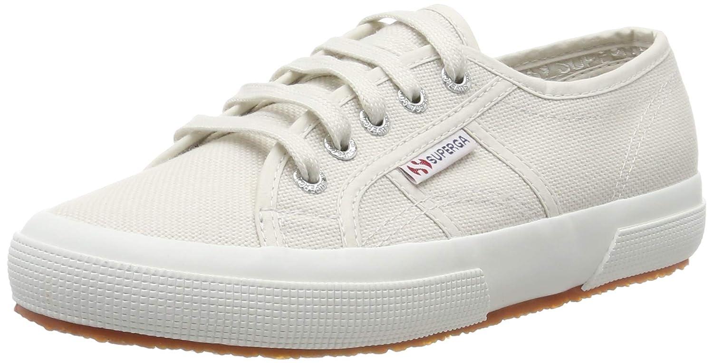 Superga 2750 Cotu Classic Sneakers Low-Top Unisex Damen Herren Grau (Grey Sheshell)
