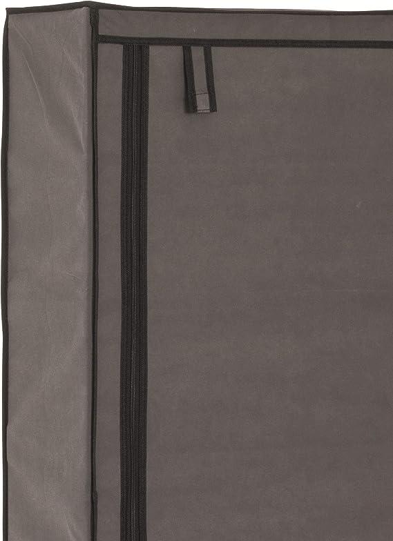 in cm: 60 x 30 x 90 in grau B//T//H Standgarderobe Maße Stoffschuhschrank BZW