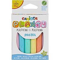 Carioca Plasty Kurumayan Oyun Hamuru 6 Pastel Renk, 100 gr
