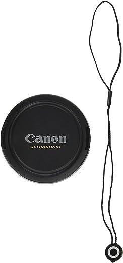 غطاء عدسات CowboyStudio بمشبك من أجل CANON Rebel (T4i T3i T3 T2 T1i XT XTI)، كانون EOS (1100D 650D 600D 550D 500D 450D 400D 350D) مع حامل غطاء العدسة 72mm E72u + lens cap holder