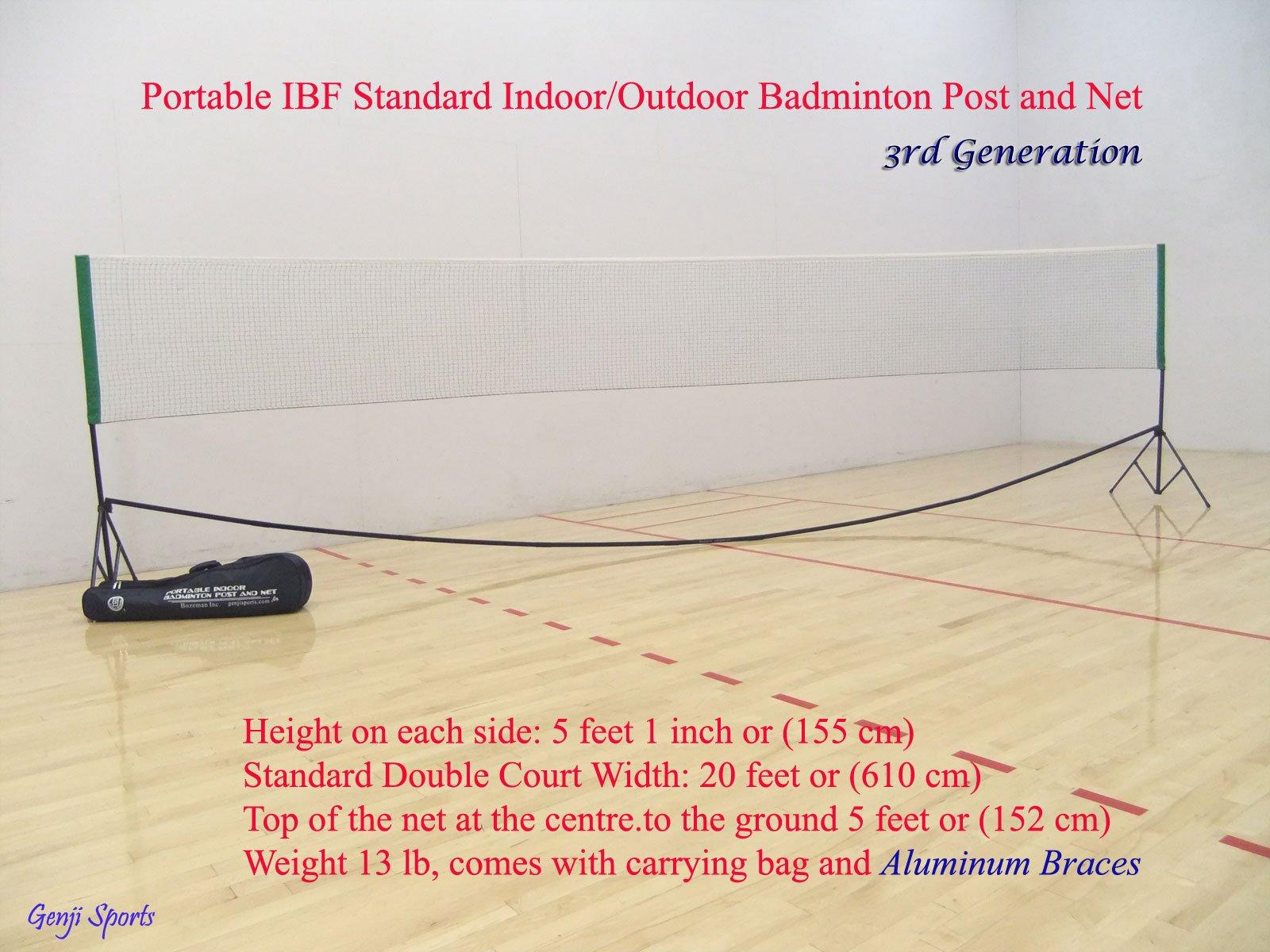 Genji Sports Portable Indoor Badminton posts & Net (3rd Generation) by Genji Sports (Image #3)