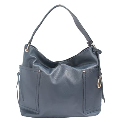 Amazon.com: Tracy Zhou Womens Hobo Top-handle Bag Crossbody Shoulder Bag European Style T65783 (Blue): Shoes