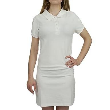 Vestido de Polo Blanco XXL: Amazon.es: Ropa y accesorios