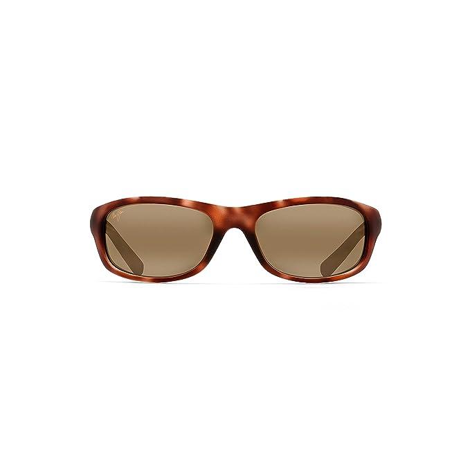 63fd299ddc Maui Jim - Kipahulu - Matte Tortoise Rubber Frame-HCL Bronze Polarized  Lenses  Maui Jim  Amazon.ca  Clothing   Accessories