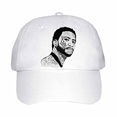 2724cd258d2 Gucci Mane Cap Hat (Unisex) (White) at Amazon Men s Clothing store