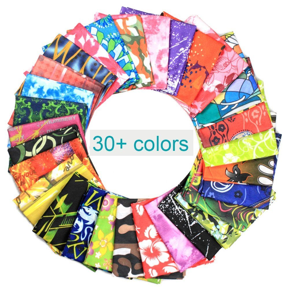 Magic Headwear Abstract Colorful Outdoor Scarf Headbands Bandana Mask Neck Gaiter Head Wrap Mask Sweatband
