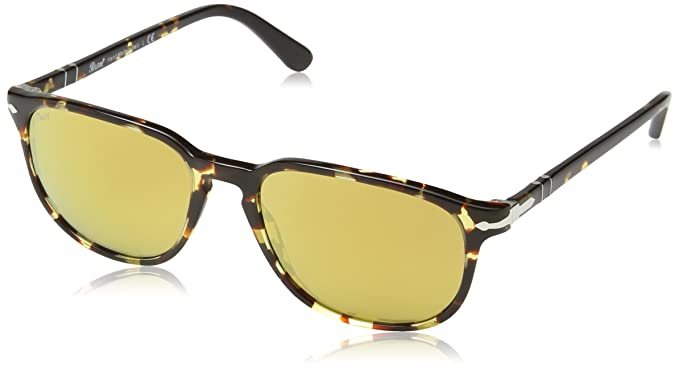 0fe74e8500 Image Unavailable. Image not available for. Color  Persol PO3019S 985 W4  Tortoise PO3019S Square Sunglasses Lens Category 2 Lens M