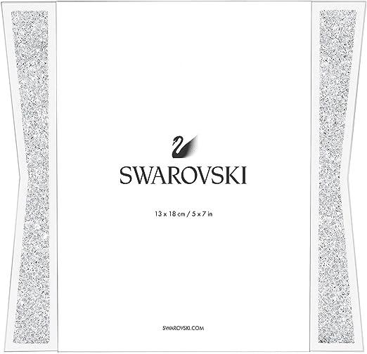 SWAROVSKI Crystalline Picture Frame, Large, Silver