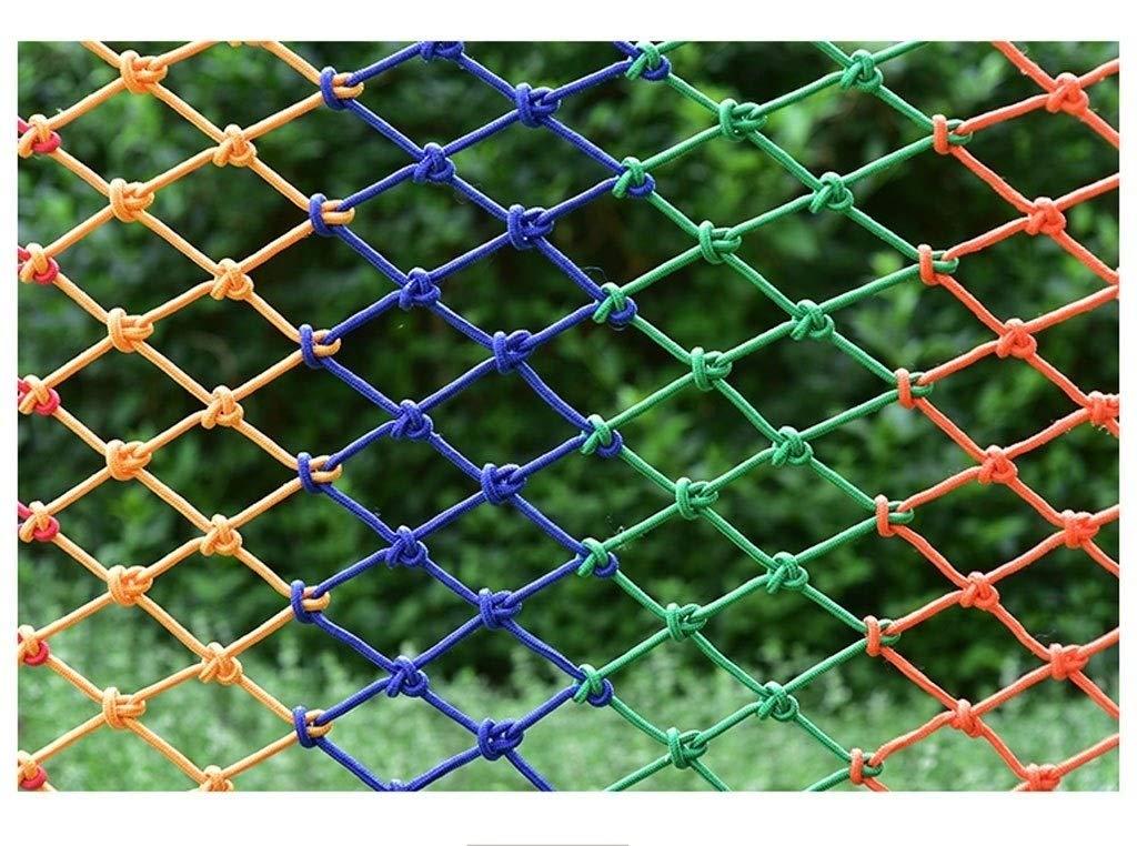 - ANquanwang Filet de Prougeection en Nylon pour escaliers de Prougeection en Nylon Balcon Anti-Chute Filet de Prougeection de la Maternelle 13m