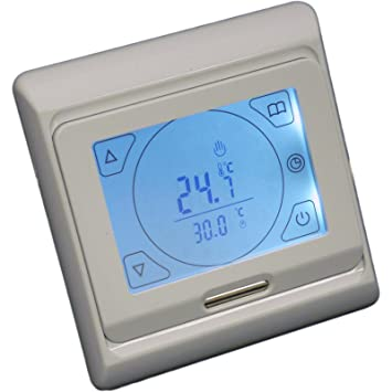 Touch screen digital under floor heating thermostat suitable for touch screen digital under floor heating thermostat suitable for almost all electric underfloor heating systems asfbconference2016 Choice Image