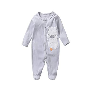 6fc529616e58 Amazon.com  sudababy Baby Fleece Pajamas Baby Sleeper 0-3 Months ...