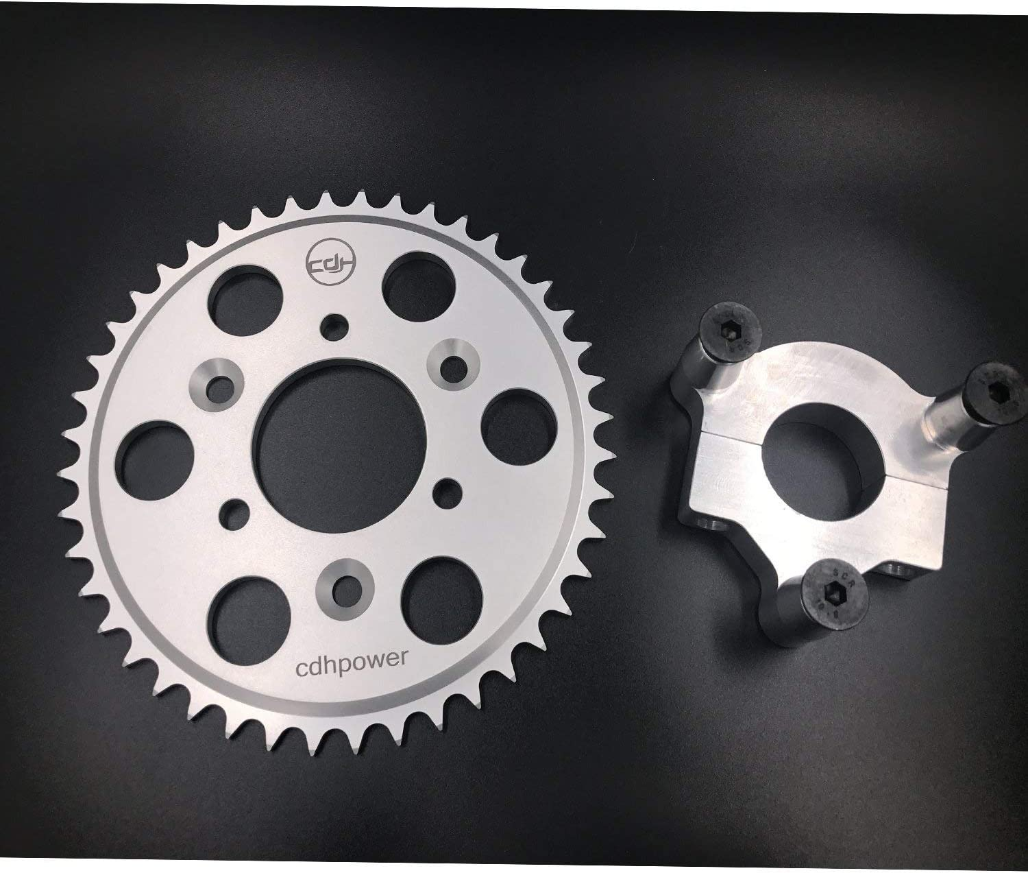 DONSP1986 Bike Rear Hub Adapter 1.5 and 44t Sprocket,2 Stroke and 4 Stroke Gas Motorized Bicycle