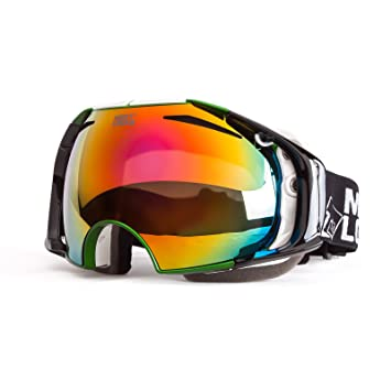 snowboard goggles  Amazon.com : MEETLOCKS Snow Goggles, with Dual Anti-fog, Anti-UV ...