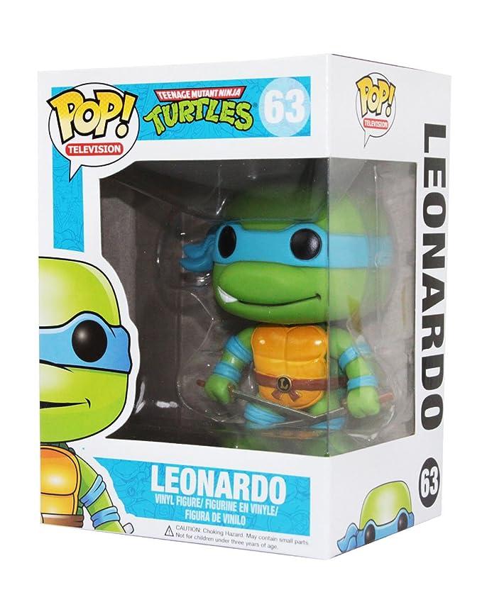 Funko Pop! Teenage Mutant Ninja Turtles Leonardo Vinilo ...
