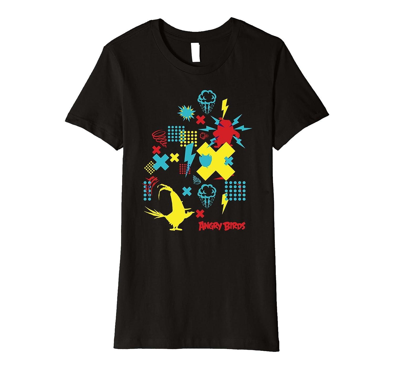 Angry Birds Ruffled Up T-Shirt-Bawle