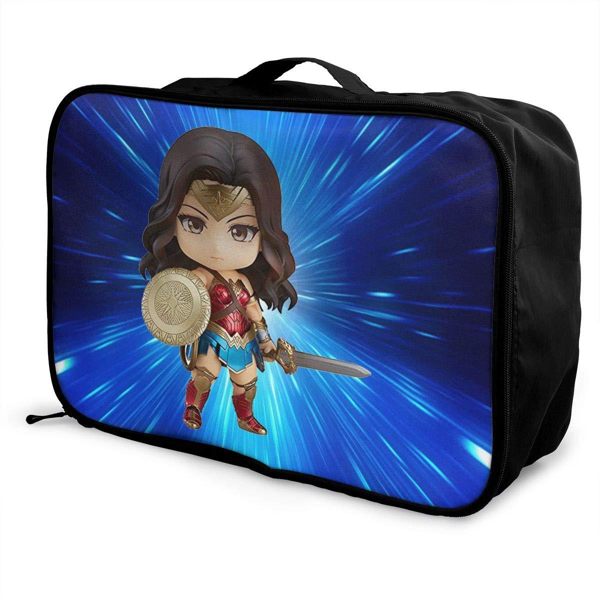 BOKAIKAI1306 Handsome Legend Zelda Unisex Adult Fashion Lightweight Large Capacity Portable Large Travel Duffel Bag Men Womens Luggage Bag 3D Printed Customized Boarding Box