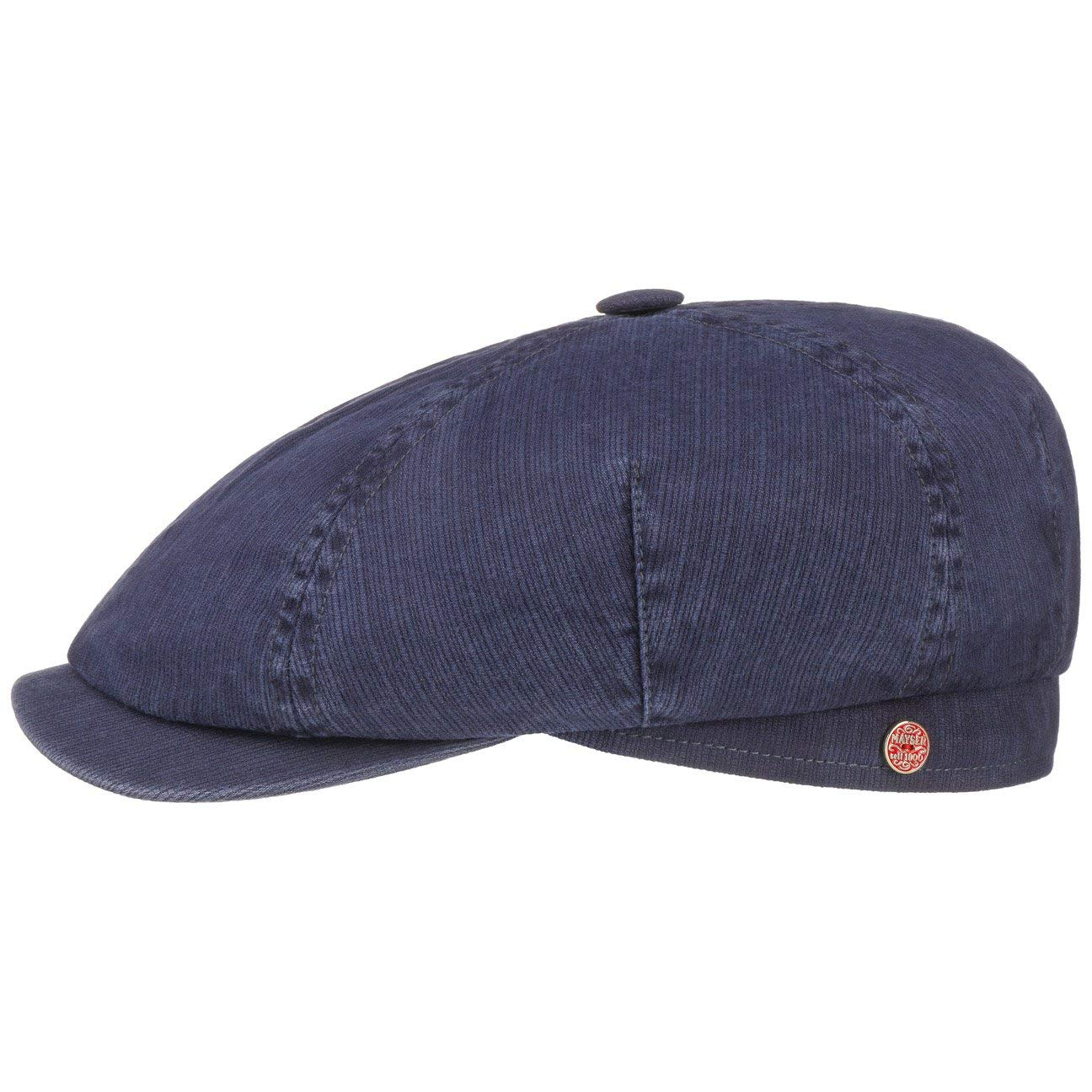 Mayser Talisso Newsboy Cap Women/Men Blue 7