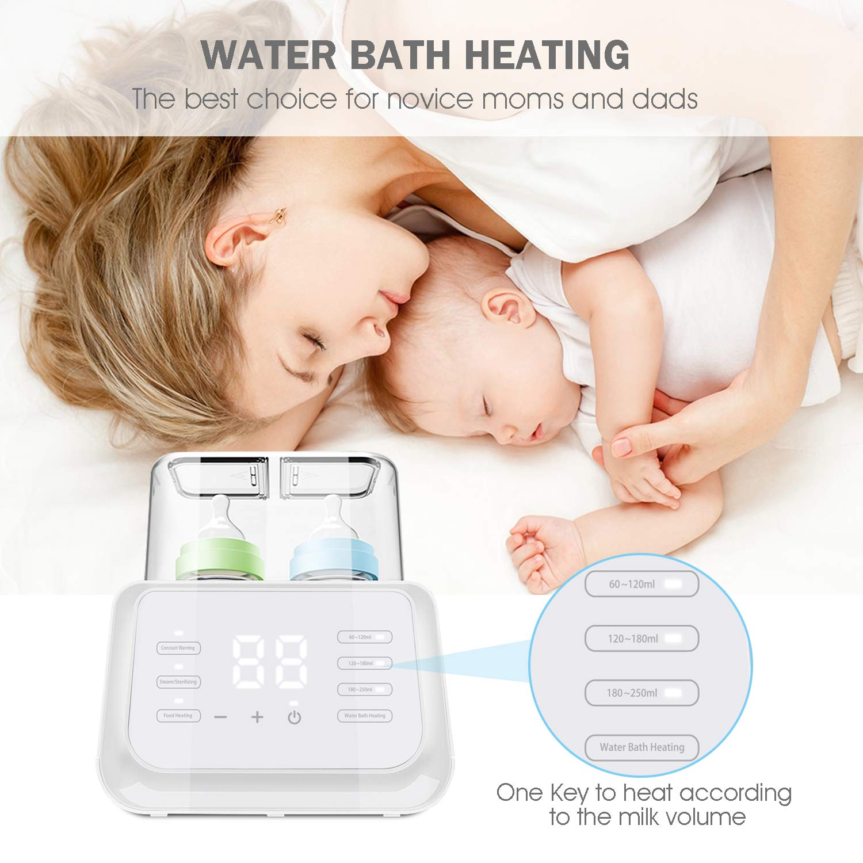 Dampfsterilisator f/ür Babyflaschen und Schnuller Aktualisierungen Owlpow Flaschenw/ärmer Baby Multifunktional Babykostw/ärmer