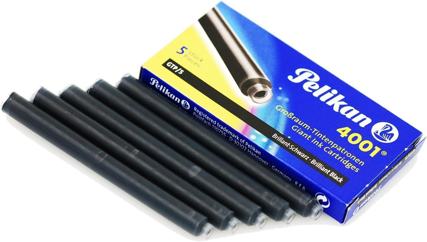 Pelikan 310664 Tintenpatronen 4001 Violett Etui Mit 5 Großraum Patronen Bürobedarf Schreibwaren
