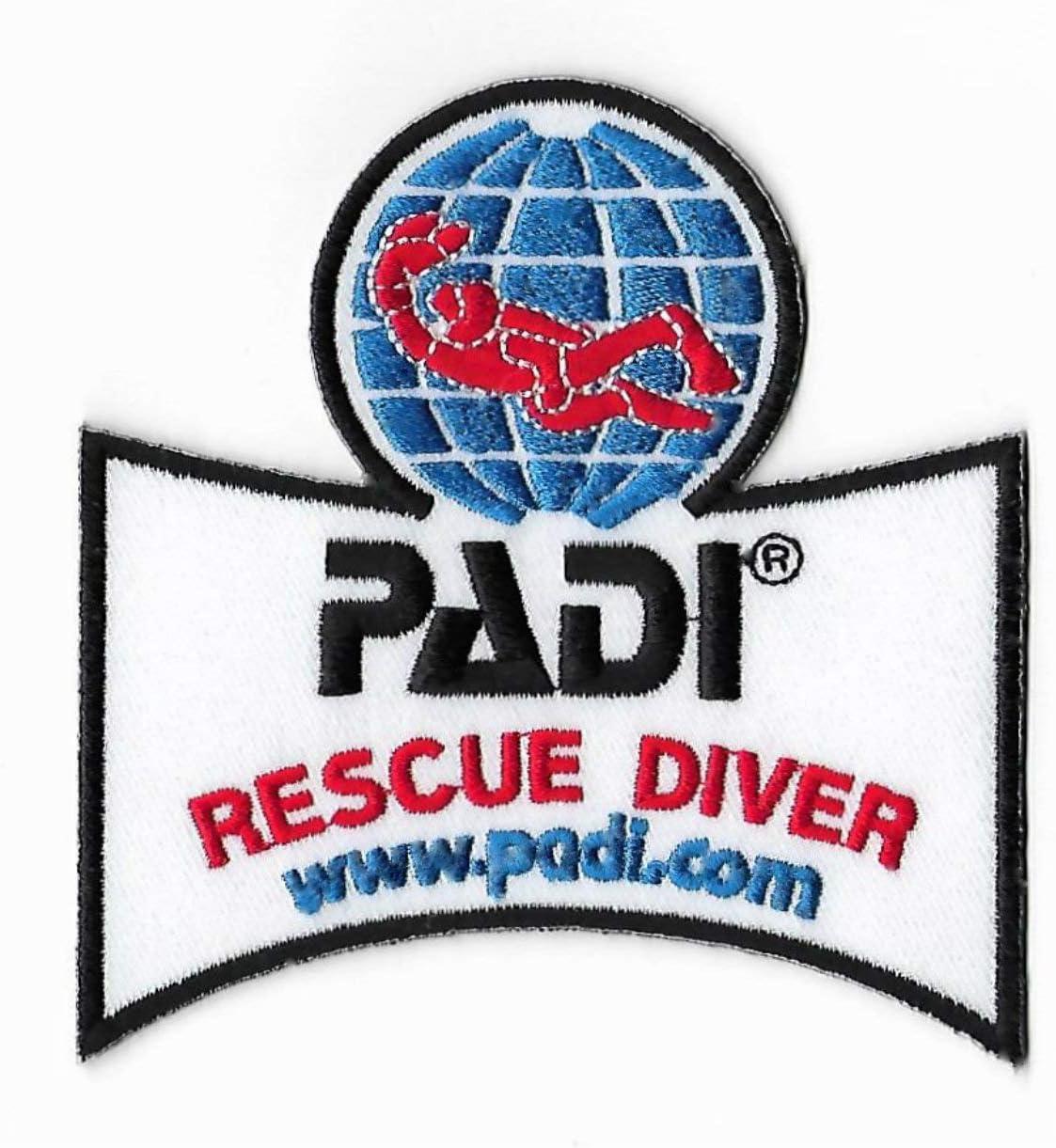 RARE PADI Rescue Diver Patch plongée