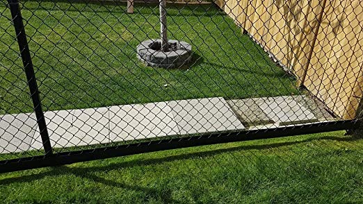 Green 8 Foot Length Easy Trim Fence Guard