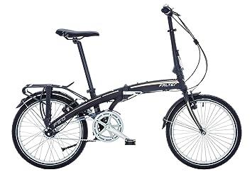Bicicleta plegable Falter F 5.0 20 negro RH 32 cm 7 marchas Nexus